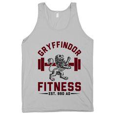 Gryffindor+Fitness+Hogwarts+HP+Harry+Potter+Magic+by+ProxyPrints,+$22.00