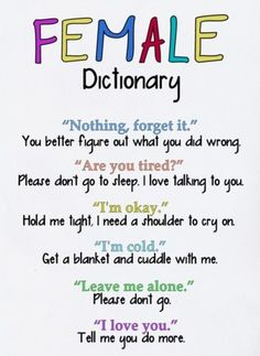 Oh how very very very very VERY true this is. Guys......for your sake......take notes haha :)