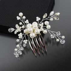 AMELIE Hair Comb Bridal Hair Comb Bridal by AdrianaSparksBridal