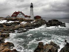 Home Sweet Home, Portland Headlight, Maine