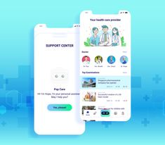 Hi everybody! This is my second shot on the dribbble.  The product I made during the COVID-19 translation occurred in the world. These are the first screens in my project on online healthcare, when epidemics are still raging across the country and social segregation is more frequent.  Hope you enjoy it. Thank you!
