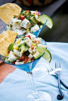 Red Drum / Redfish Ceviche You can substitute red snapper, or firm fleshed fish such as halibut, striped bass or fluke. Scallops also make great ceviche! 1 lb. super fresh redfish fillet—skinned an…