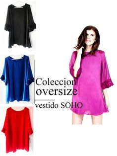 Encarga el tuyo Hoy Vestido Soho, Tunic Tops, Women, Fashion, Noblesse, Moda, Fashion Styles, Fashion Illustrations, Woman