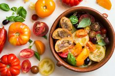 Tomato Salad With Anchovy Toasts Recipe - NYT Cooking