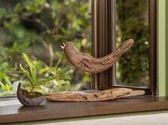 #流木の鳥ー3 ★  #流木 #流木アート #屋久島アート #インテリア  #Birds of #driftwood  #Interior