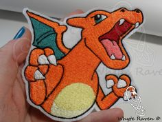 Charizard Pokemon Embroidered Patch