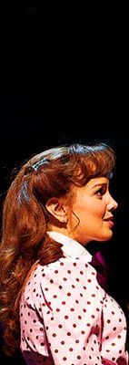 Kara Lindsay in Newsies....watch what happens when you have something to believe in.