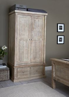 The Austen bedroom furniture range has a rustic feel with a white washed Savannah finish, ideal for a relaxed look. Crafted from reclaimed timber and finished by hand, each piece in this charming collection is entirely unique.