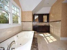 Bathroom Vanities Jericho Turnpike crema marfil & honey onyx bathroom, c-line marble & granite, inc