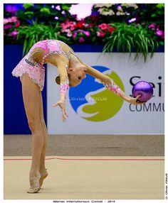 Yana KUDRYAVTSEVA (RUS), Qualification 40ème Internationaux GR Corbeil Essonne