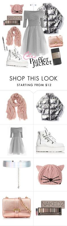 """""""Skating Date - Puffer Jacket Chic"""" by thewovenwolf ❤ liked on Polyvore featuring Mint Velvet, Ivy Park, Puma, Accessorize, Karl Lagerfeld, Aspinal of London, J.Crew, Urban Decay, Forever 21 and modern"""