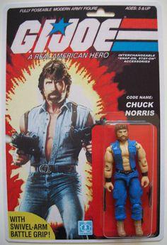 G.I. Joe figure - Chuck Norris - Popsfartberger