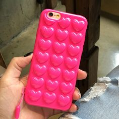 For iphone 7 6 6s Case Korean Peach Heart Jelly Candy Soft Silicone TPU Back Cover Love Phone Case For iphone 7 6 6S Plus Fundas