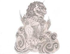 478 Best Foo Dog Tattoo Images Japanese Art Japanese Pagoda