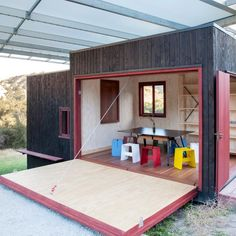 The outside walls on a Shelter in New Zealand has been treated with WOCA Exterior Oil to protect the surface against fungus and UV radiation. Learn more.