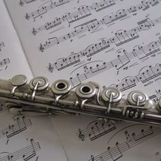 The patina on the flute is part of what makes it beautiful! 5 points if you can guess the sheet music and movement! :) #Flute
