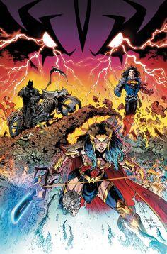 Dc Comics Superheroes, Dc Comics Characters, Dc Comics Art, Book Characters, Greg Capullo, Death Metal, Comic Book Artists, Comic Books Art, Mundo Superman