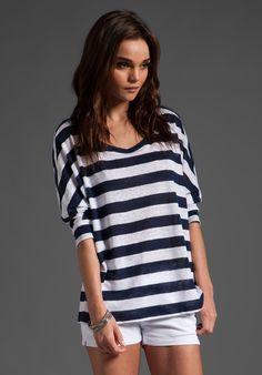 Cuban Stripe Jasmina Top