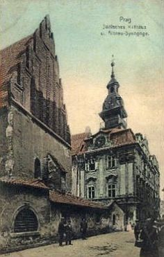 Old Postcard of Josefov in Prague Beautiful Fairies, Beautiful Places, Old Photos, Vintage Photos, Old Photography, Old Paintings, Old Postcards, Czech Republic, Art And Architecture