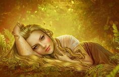 Digital Art by Olga Fomina   InspireFirst Cute xx