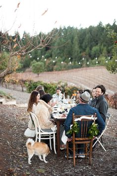 Friendsgiving from Melanie Duerkopp Photography  Read more - www.stylemepretty...