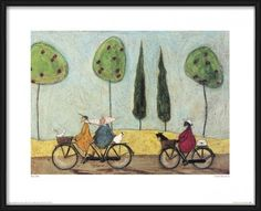 Reprodukcje, Obraz Sam Toft - A Nice Day For It | Posters.pl