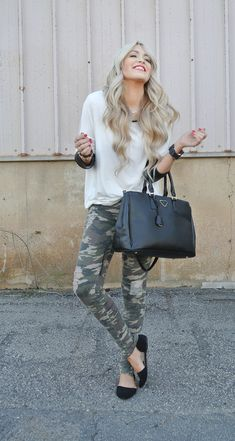 I've been putting it off but I might just have to go out and get some camo pants | from Cara Loren