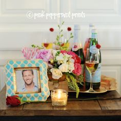 TV/MOVIE THEMED PARTIES: ABC's The Bachelor Party and Free Bachelor Themed Printables.  If you love the Bachelor and the Bachelorette definitely print out these free tags to use for your next viewing party, and don't miss all the fun Bachelor Viewing Party ideas!