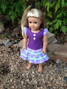 18 Inch American Girl Doll Clothes Crazt About by TCsTreasures, $10.00