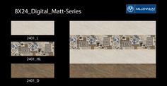 Millennium Tiles 200x600mm (8x24) Digital Wall Matt Series
