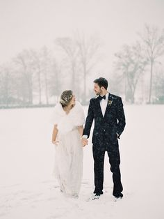 2014 Wedding Trends | Wraps & Capes | We love this fur wrap for a winter wedding