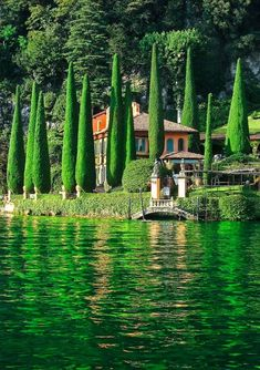 Lake Como in northern .Italy