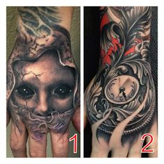 Carl Grace hand tattoos.  For more tattoos and videos visit our link below.  SUBSCRIBE: http://www.youtube.com/SullenTV  #SullenTV #Sullen #tattoo #art #artist #ink #sullenclothing