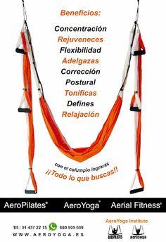 COLUMPIO OFICIAL AEROYOGA® AEROPILATES® INTERNATIONAL- YOGA AEREO© y Pilates Aereo © en #Mexico con Rafael Martinez, creador del método AeroPilates® Formacion de profesores, #AerialPilates #aeropilates #aeroyoga #yogaaereo #acro #acrobatico #columpio #yoga #pilates #fitness #wellness #bienestar #belleza