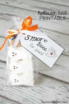 Halloween Treat Printable | Create Craft Love