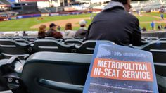 In-seat service at CITI Field in Queens, NY