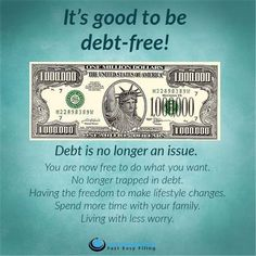 What would be the benefits of becoming financially free for you? Share your thoughts in a comment! #debtfree #FinancialFreedom