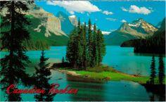 Maligne Lake - Jasper National Park (UNESCO WHS site: Canadian Rocky Mountain Parks)