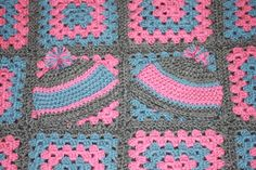 Matching Baby Hats for Afghan by CrabappleCrochet on Etsy, $12.00