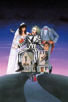 Beetlejuice | Here's What Iconic Movie Posters Looks Like Without Their Words