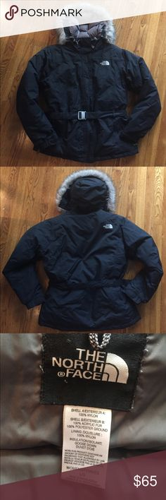 THE NORTH FACE  WOMEN GOOSE DOWN COAT SIZE L The north face women coat insulation goose down. Pre-owned. In great condition. Very warm coat The North Face Jackets & Coats Puffers