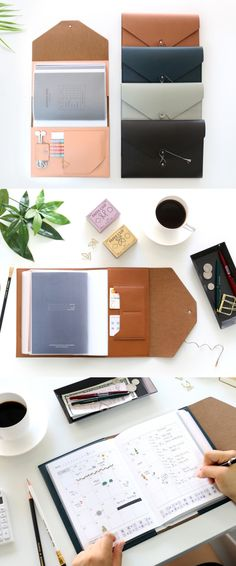 Whether you are a busy office-worker, a student who takes a lot of notes, or an artist who collects all their inspirations, the MYO String Tie Planner Organizer can make an excellent personalized planner for you! Add the MYO Planners and Notes, and