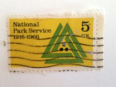 National Park Service _ 1916 to 1966 5 cent Postage Stamp