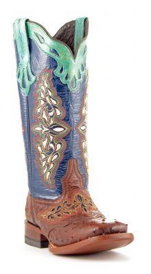 Womens Lucchese Ostrich Boots Sienna #M5802-twf via @Chris Allen sutton Boots