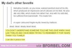 Supercalifragilisticexpialidocious Gandhi…