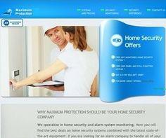 Alarm Company Website Alarm Companies, Web Design, Personal Care, Website, Design Web, Self Care, Personal Hygiene, Website Designs, Site Design