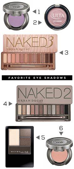 Our Favorite Eyeshadows (+ 3 Money Saving Eye Makeup Tips!)