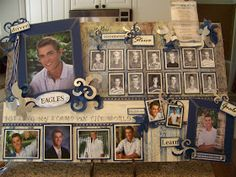 Creations from my heart: Graduation Boards For My Youngest....