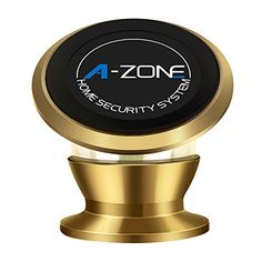 AZONE Car Cellphone Dash Mount Holder Car Holder Multi Function 360 Rotation for IPhone 55S6S plus77 plus Samsung Galaxy S6 S7 Smartphone Gold *** Read more reviews of the product by visiting the link on the image.