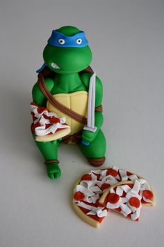 Tmnt Cake Toppers Uk